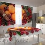 Foto virtuvinės užuolaidos